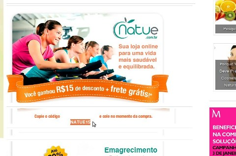 Natue_Copiar código
